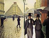 Gustave Caillebotte - Paris Street Rainy Weather