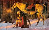 Unknown Artist Prayer At Valley Forge painting
