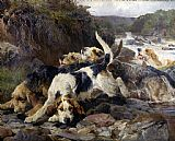 The Otterhounds by John Sargent Noble