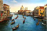Famous Grand Paintings - Venice Grand Canal