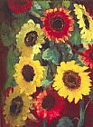 emil nolde Sunflowers