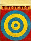 Unknown Artist jasper johns Target with Four Faces painting