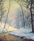 Famous Snow Paintings - palmer The Early Snow