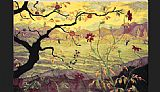 Unknown Artist paul ranson Apple Tree with Red Fruit painting