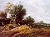 Unknown Artist peeters Landscape with Dunes painting