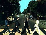Unknown Artist the Beatles @ Abbey Road painting