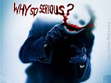 Unknown Artist Famous Paintings - why so serious the joker