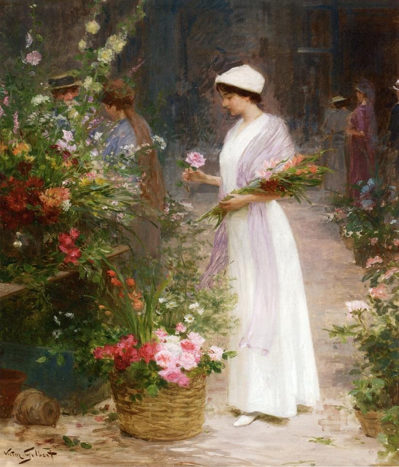 Famous Flower Paintings Famous Flowers Paintings