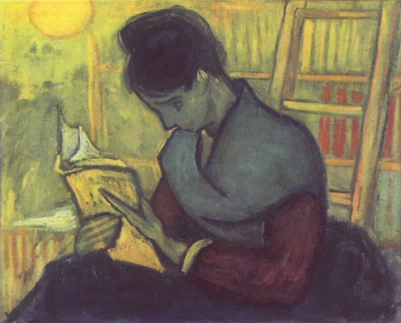 Vincent van Gogh A woman reading