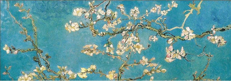 Vincent van Gogh Almond Branches in Bloom, San Remy