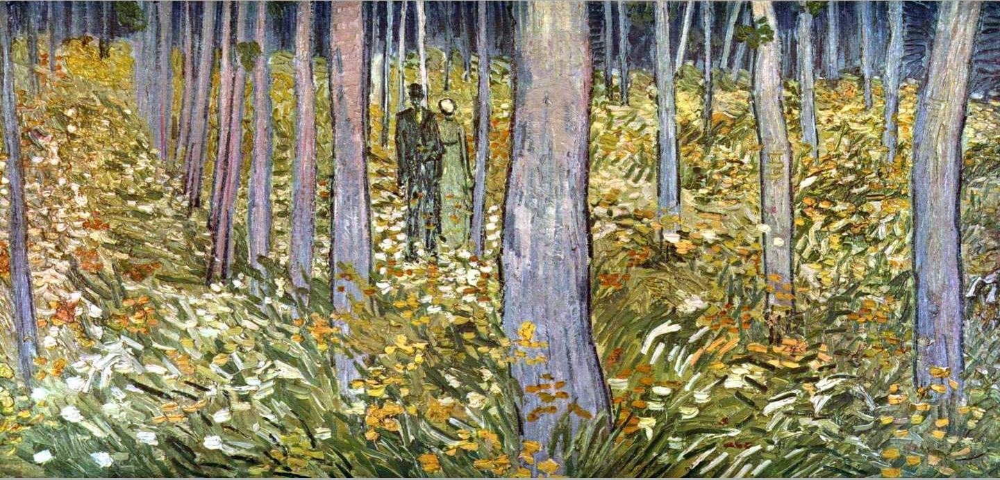 walking in the forest Famous Forest Paintings
