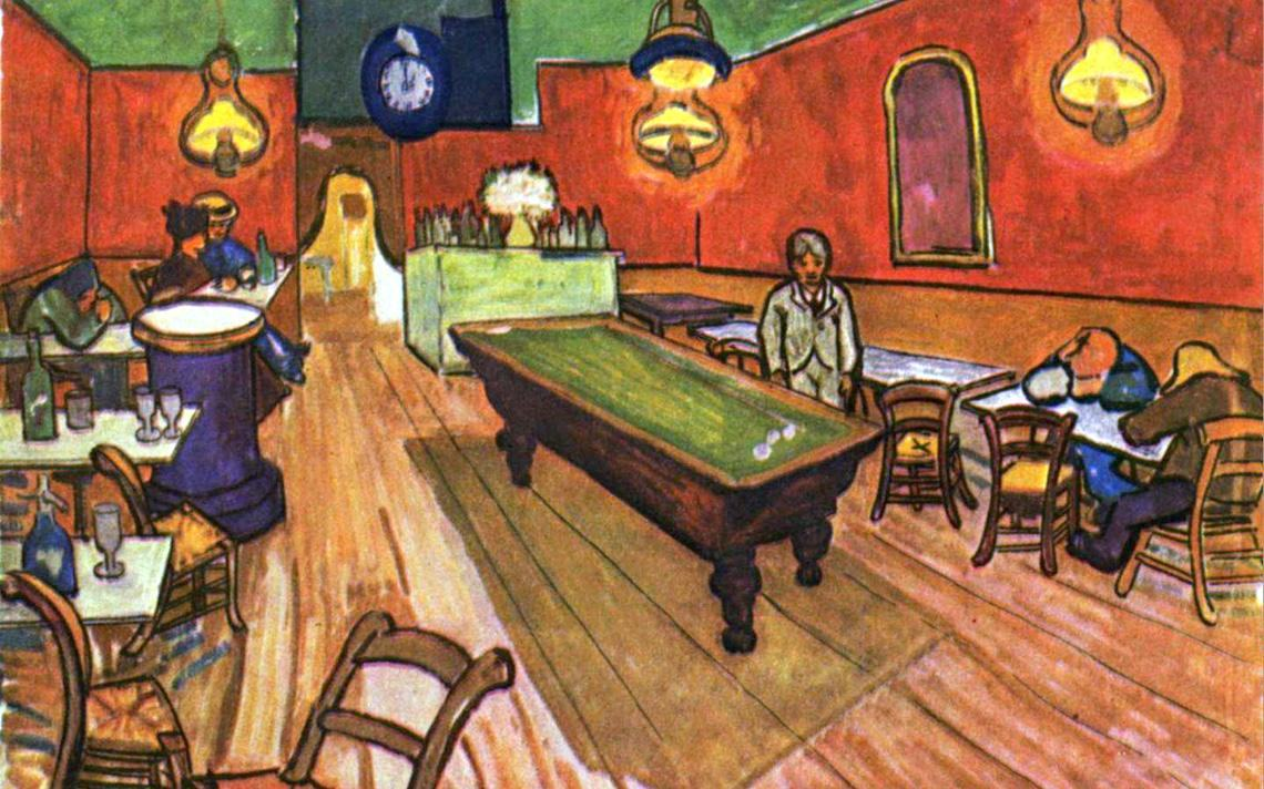 Famous cafe painting - Vincent Van Gogh The Night Cafe In The Place Lamartine In Arles