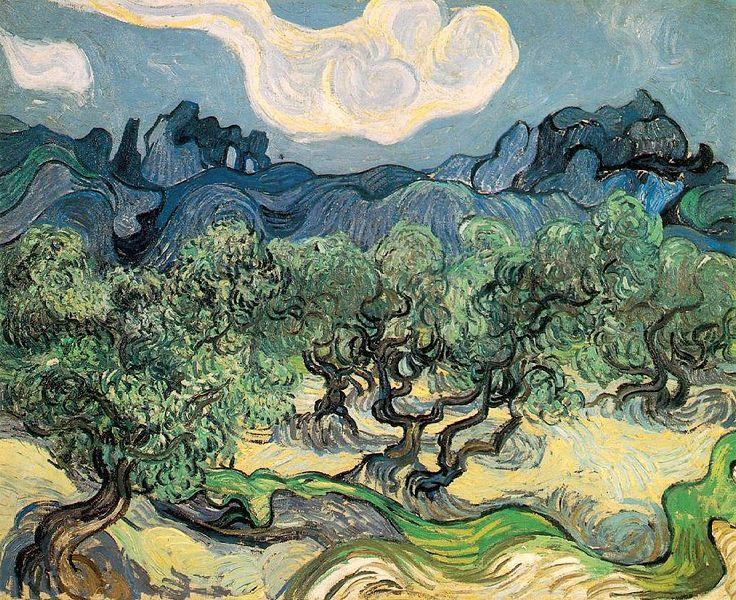 Vincent van Gogh The Olive Trees