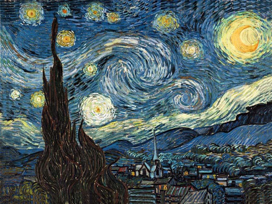 Vincent van Gogh The Starry Night 2