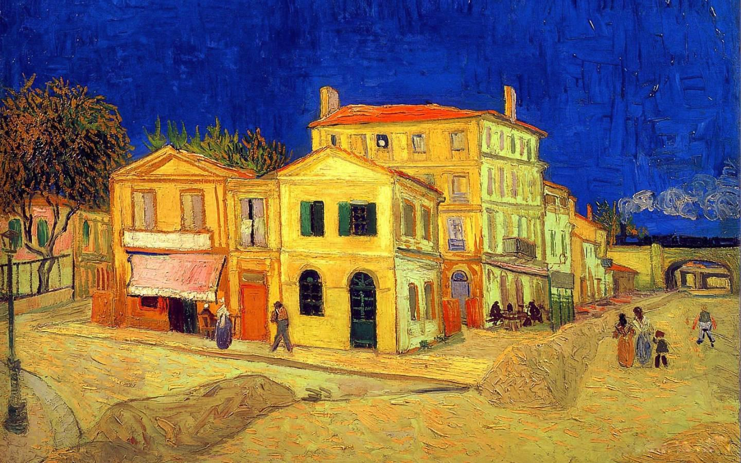 Vincent van Gogh The Yellow House