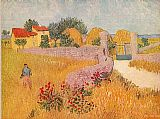 Vincent van Gogh Gateway to the Farm painting
