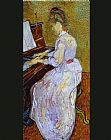 Mademoiselle Gachet at Piano