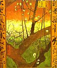 Plum tree in Bloom  after Hiroshige