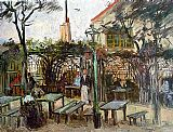 Vincent van Gogh Terrace of the Cafe La Guinguette painting