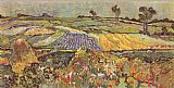Sur Canvas Paintings - The Lowlands at Auvers-Sur-Oise