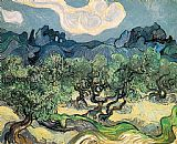 Famous Trees Paintings - The Olive Trees
