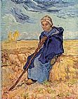 Shepherdess Canvas Paintings - The shepherdess