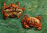 Vincent van Gogh Two Crabs painting