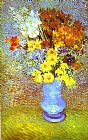 Famous Vase Paintings - Vase with Daisies and Anemones
