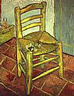 Vincent van Gogh Vincent's Chair with His Pipe painting