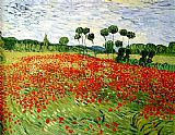 Famous Poppies Paintings - field of poppies
