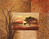 Vivian Flasch Canvas Paintings - African Elephant