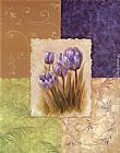 Vivian Flasch Canvas Paintings - Amethyst Tulip