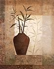 Vivian Flasch Canvas Paintings - Bamboo Shadow I