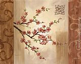 Vivian Flasch Famous Paintings - Blossom Branch I