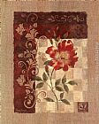 Rose Wall Art - Burlap Climbing Rose