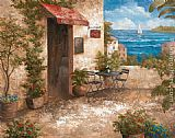Vivian Flasch Famous Paintings - Caffe di Terrazo