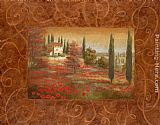 field Wall Art - Fields of Tuscany I