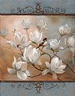 Vivian Flasch Famous Paintings - Magnolia Splendor