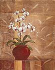 Vivian Flasch Orchid Obsession I painting