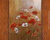 Poppies Wall Art - Poppies & Morning Glories I