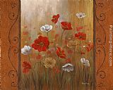 Poppies Wall Art - Poppies & Morning Glories II