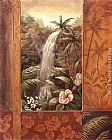 Vivian Flasch Wall Art - Tropical Waterfall II