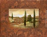 Vivian Flasch Wall Art - Vineyard Morning II