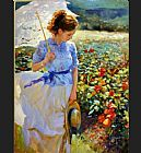 Famous Beauty Paintings - She walks in Beauty
