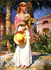 Famous Bouquet Paintings - Yellow Bouquet