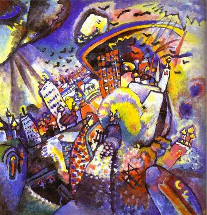 Wassily Kandinsky Moscow I painting | framed paintings for ...