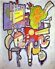 Wassily Kandinsky Complex Simple painting
