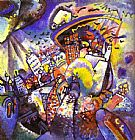 Wassily Kandinsky Moscow I painting