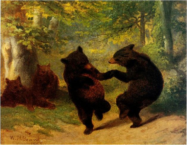 William Beard Dancing Bears