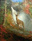 William Beard Majestic Stag painting